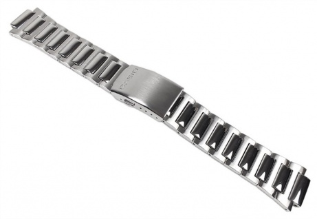 Casio Ersatzband Uhrenarmband Edelstahl Band für EF-500D-1 EF-500D