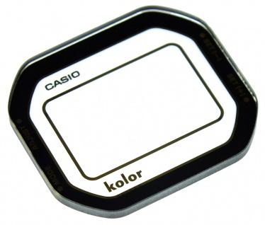Casio Uhrenglas Mineralglas rund Glas Ersatzglas mit Aufdruck GMW-B5000KL