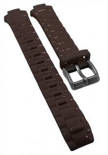 Calypso Ersatzband braun Kunststoff Schließe silberfarben K5678 K5679 KM5679