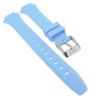 Calypso Ersatzband aus Kunststoff in blau mit Schließe silberfarben K5756/5
