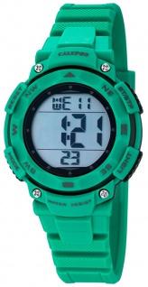 Calypso Damenarmbanduhr Quarzuhr Kunststoffuhr mit Polyurethanband Alarm-Chronograph digital K5669/3