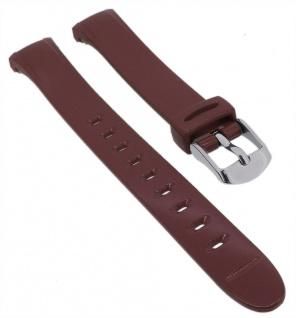 Calypso Uhrenarmband braun Band aus Kunststoff mit Dornschließe K5749/7