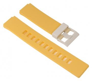 Casio Ersatzband Resin Gelb 16mm W-110 LCF-20 LDF-10 LDF-11 LDF-21 LDF-20 LDF-10