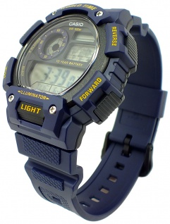 Casio Collection Digitaluhr blau Automatischer Kalender Resin AE-1400WH-2AVEF