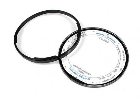 Casio Ersatzglas Uhrenglas mit Dichtungsring Ø 32mm 1, 85mm für PRW-500