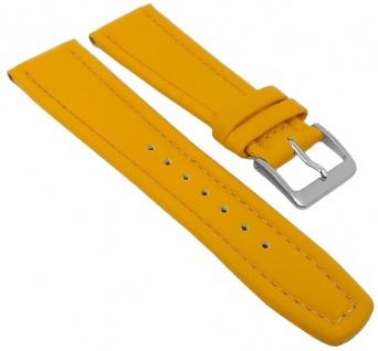 Graf Manufaktur Montana Uhrenarmband Walknappa Band Gelb 26379S