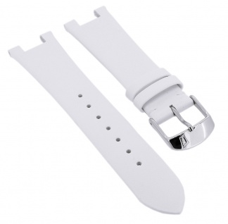 Festina Damen Uhrenarmband Ersatzband aus Leder in weiß F20234/1