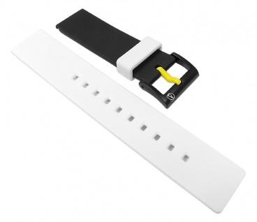 Q&q SmileSolar Ersatzarmband Uhrenarmband Kunststoff Band 20mm 26506
