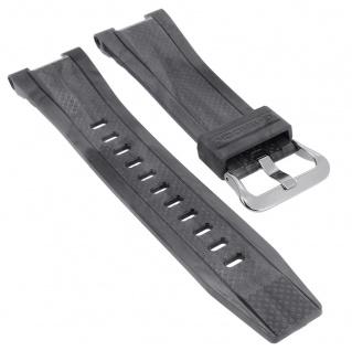 Casio G- Shock Ersatzband grau Resin Band Schließe silberfarben GST-210M-1A GST-210M