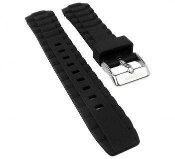 Calypso Watches Uhrenarmband Ersatzband Kunststoff Band weich schwarz für Modell K5667