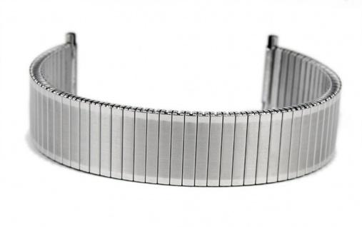 Eulit Flexband Zugband Ersatzband Edelstahl Band 18mm 19mm 20mm
