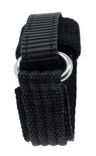 s.Oliver Ersatzband 14mm Klettverschluß schwarz Nylon SO-1459-LQ