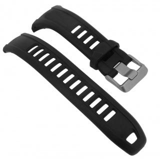 Timex Ironman Triathlon Ersatzband schwarz Band Kunststoff Uhrenarmband P5K748 T5K748