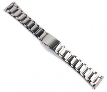 Casio Uhrenarmband Edelstahl Band für MTP-1336D
