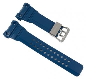 Casio G-Shock Uhrenarmband Resin Band Blau für GWN-1000C 10476129
