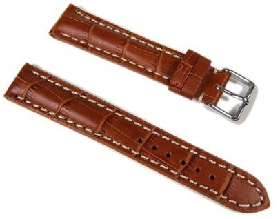 Ersatzband Uhrenarmband Swiss Chrono II 18mm braun 646018