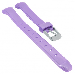 Calypso Digital Uhrenarmband Kunststoff lila Schließe silberfarben K5738/7 K5738
