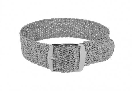 Minott Durchzugsband | Ersatzband silbern geflochten | Perlonband 32469
