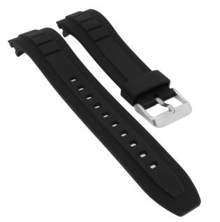Casio Ersatzband schwarz Resin MTF-E001-7AV MTF-E002B-1AV MTF-E001 MTF-E002