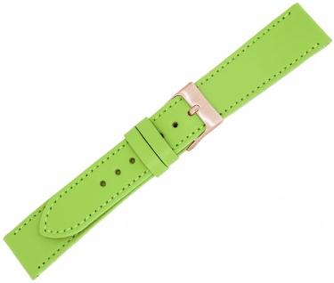 Minott Ersatzband Kalbsleder grün Made in Europa Ton in Ton Naht Verlauf