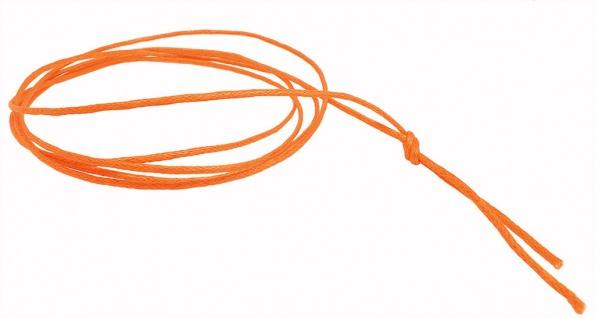 Minott Schnur Halskette orange Band aus Baumwolle gewachst Ø2mm L 100cm