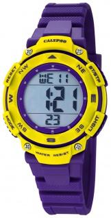 Calypso Damenarmbanduhr Quarzuhr Kunststoffuhr mit Polyurethanband Alarm-Chronograph digital K5669/8