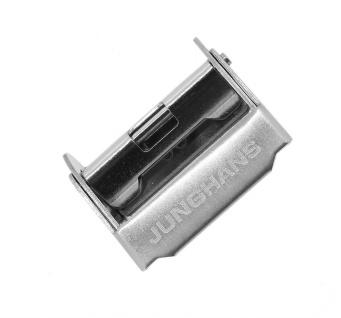 Junghans Max Bill Automatic Schiebeverschluß 20mm Edelstahl silbern 027/4002