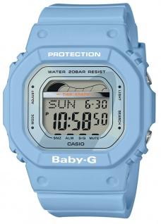 Casio Baby-G Armbanduhr mit Ebbe-Flut-Indikator Damen digital BLX-560-2ER