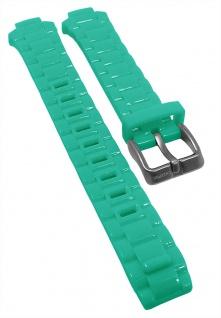 Calypso Ersatzband grün Kunststoff Schließe silberfarben K5678 K5679 KM5679