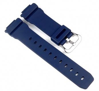Casio Uhrenarmband Resin Band Dunkelblau für DW-6900, GW-6900, DW-069, DW-003,