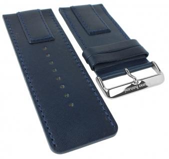 Bruno Banani Proteus Ersatzband blau glatt Leder XP3 103 303 BR20822 BR20823 BR20821