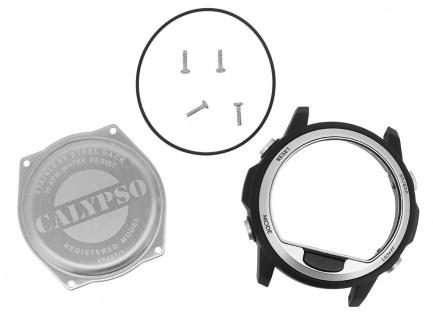 Calypso Gehäuse aus Kunststoff in schwarz/grau passt zu Uhren- Modell > K5667 - Vorschau