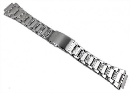 Casio Uhrenarmband Edelstahl Band Silberfarben 18mm für SGW-500HD-1 SGW-500HD