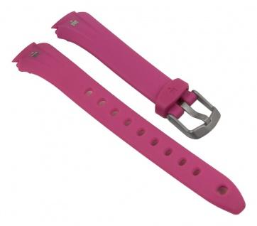 Timex Ironman Uhrenarmband PU Band Wasserfest Pink 14mm für T5K722