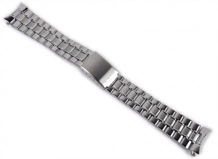Casio Ersatzband 20mm Uhrenarmband Edelstahl Band für MTP-1141A-1A MTP-1141A