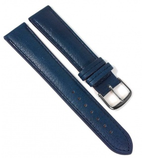 Öko Nappa Uhrenarmband Nappaleder Blau 22352S