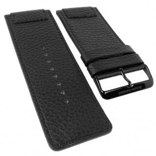 Bruno Banani Triton Ersatzband Leder schwarz X03 901 301 X04 121 301 BR20828 BR20826 BR20829