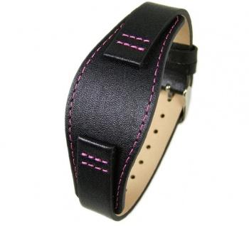 Uhrenarmband Leder Band Unterlageband 14mm schwarz s.Oliver SO-2233-LQ