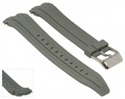 Uhrenarmband Kautschuk Band grau passend zu Festina F16670/5 F16670/alle F16505