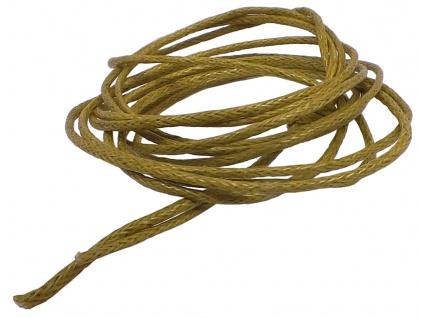 Minott Schnur Halskette olive Band aus Baumwolle Ø 0, 9mm > L 100cm 39468
