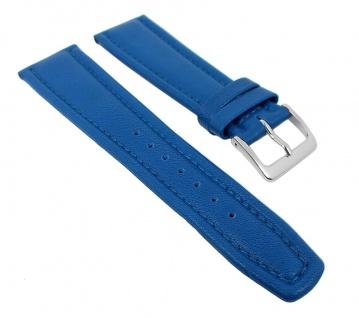 Graf Manufaktur Montana Uhrenarmband Walknappa Band XL Länge Blau 26361S