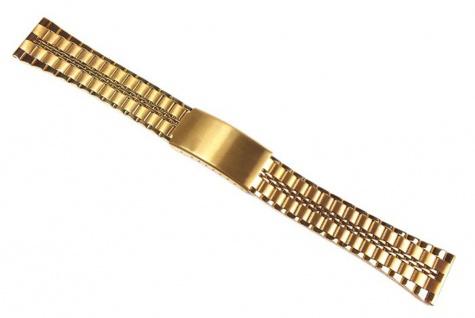 Minott Uhrenarmband Edelstahl Band Gelbgoldfarben 24122