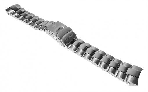 Casio Uhrenarmband Edelstahl Band Silberfarben für EFM-502D