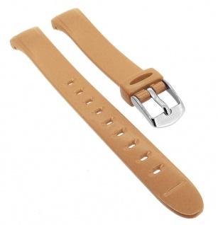 Calypso Uhrenarmband braun/rosé aus Kunststoff mit Dornschließe K5749/5