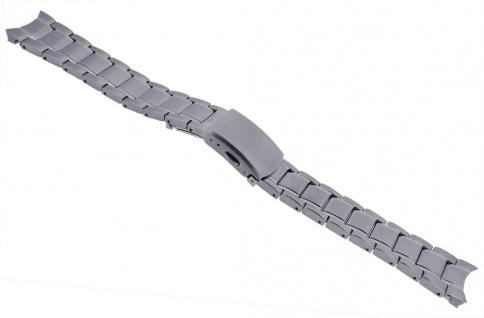 Citizen Uhrenarmband Edelstahl Band silbern mit rundem Anstoß für AW1231