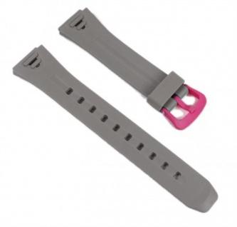 Casio Uhrenarmband Resin Band Grau/Pink LW-S200H-8AEF LW-S200H