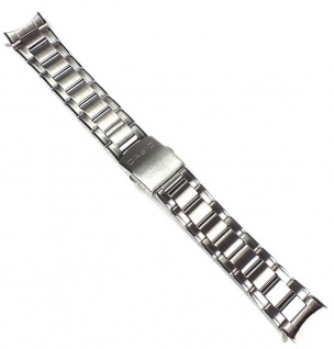 Casio Uhrenarmband Edelstahl Band Silberfarben MTD-1053D
