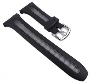 Casio Uhrenarmband Resin Band schwarz / Transparent für BG-163-1 BG-163