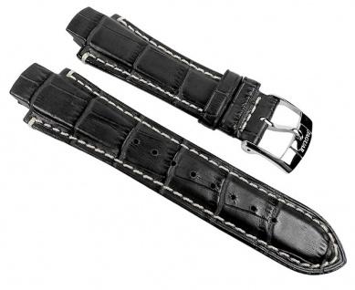 Jaguar Uhrenarmband Leder Band schwarz für J1200/1 J1200