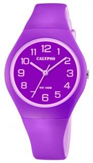 Calypso K5777 Armbanduhr Kinder analog Kunststoff bicolor Uhr K5777/4